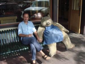 Josh & bear