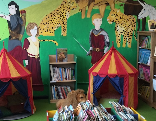 Opening a new school library