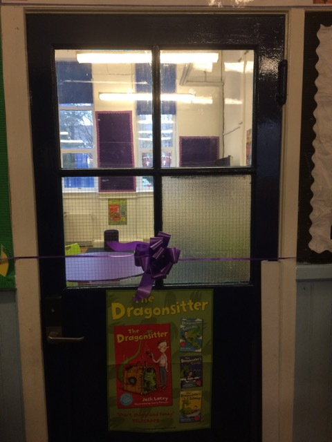 The new library at Furness Primary