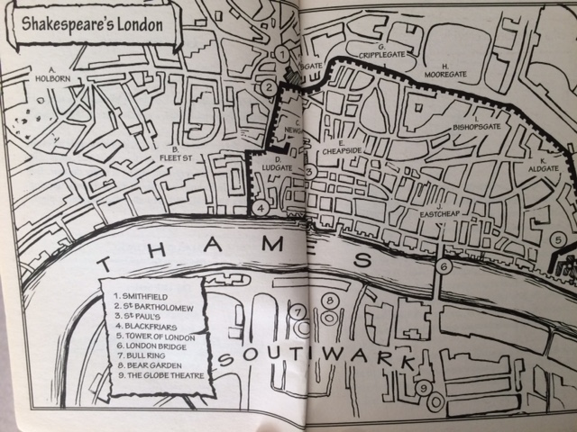 London map 1601