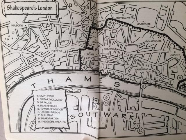 London map 1601