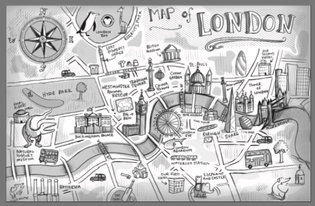 London map today